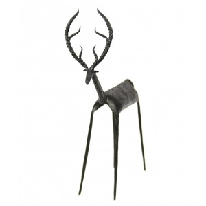 A wrought iron Deer from Bastar