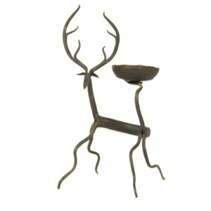 A deer candle holder from Bastar.